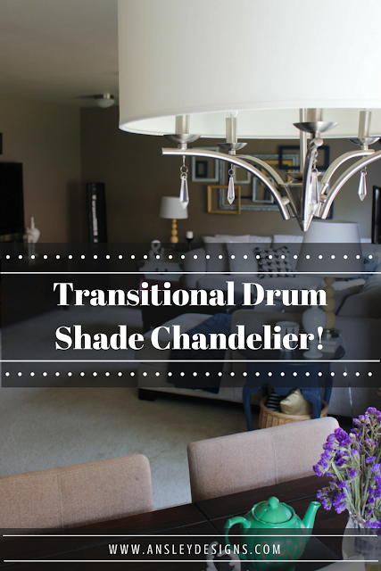 Dining Room Inspiration. Transitional Chandelier