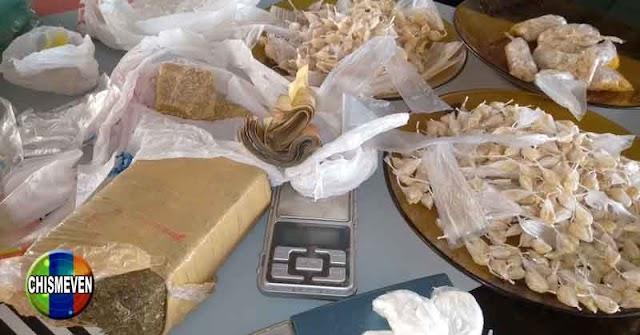 Desmantelaron una fábrica artesanal de drogas en la Cota 905 | UNA SOLA
