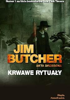 Krwawe rytuały - Jim Butcher