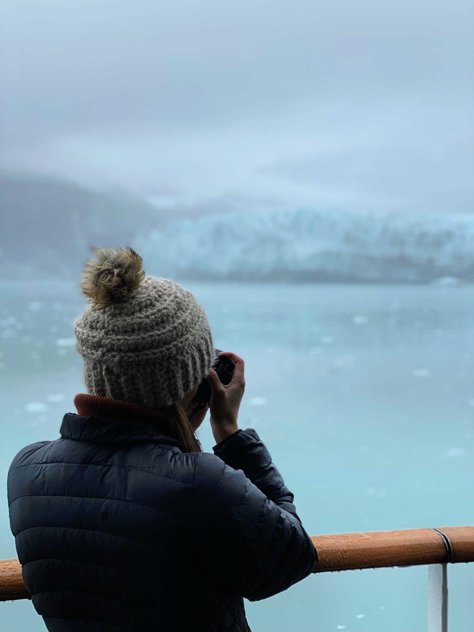 ICEBURG GLACIER ALASKA