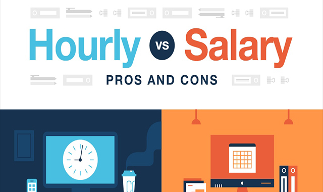Hourly vs. salary: Pros and cons