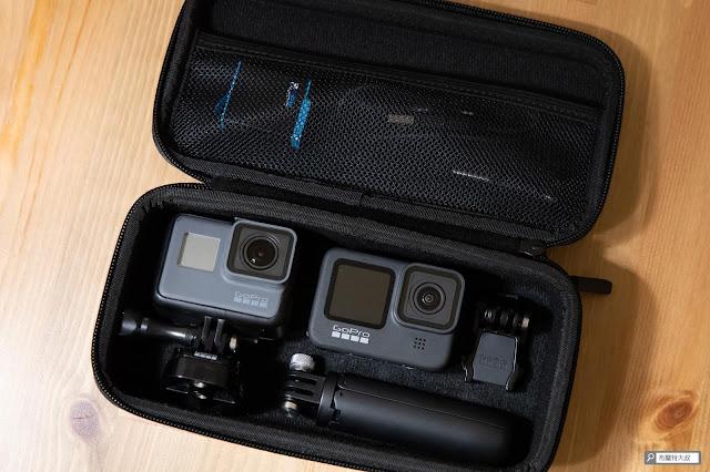 【開箱】再次進化的史上最強運動攝影機,GoPro HERO9 Black - 收納盒要放進兩台 GoPro 攝影機沒有問題