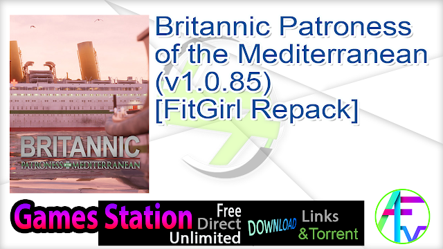 Britannic Patroness of the Mediterranean (v1.0.85) [FitGirl Repack]