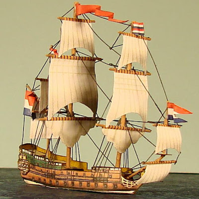 Tall Ship Bastelbogen