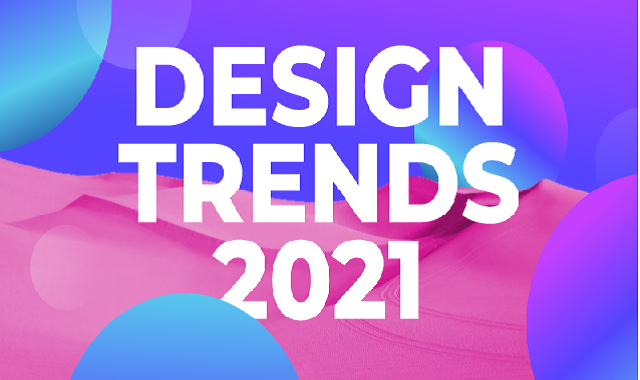8 Disruptive Digital & Graphic Design Trends of 2021 #infographic