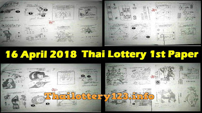 Thailand Lottery 1st Paper First Magazine Full 16 April 2018