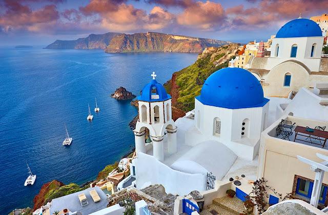 Visita Santorini Grecia