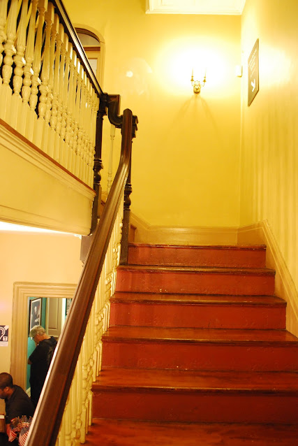 Interior of Frances Tavern
