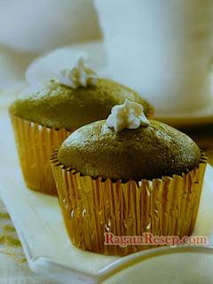 Resep Cupcake Green Tea Yoghurt