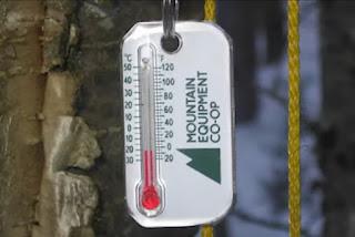 Mengetahui suhu di gunung