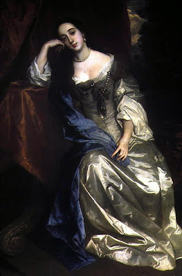 """Barbara Villiers"" by Peter Lely - archived web page of Euston Hall.. Licensed under Public Domain via Wikimedia Commons - http://commons.wikimedia.org/wiki/File:Barbara_Villiers.jpg#/media/File:Barbara_Villiers.jpg"