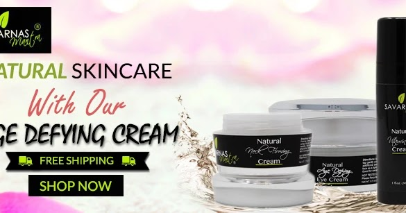 NATURAL SKIN CARE WITH OUR AGE DEFYING CREAM