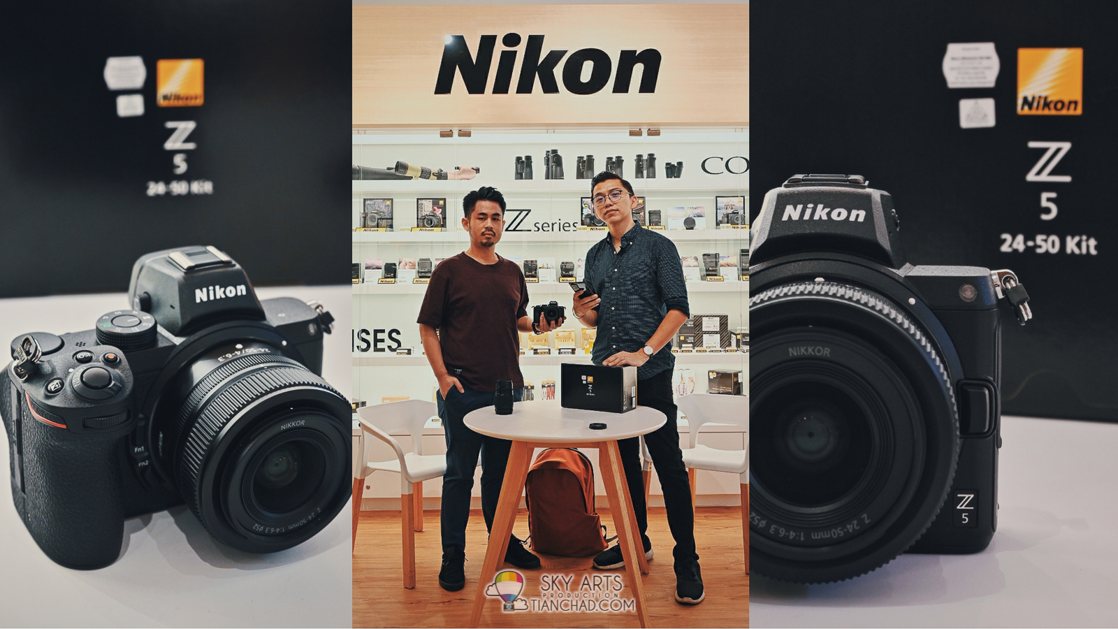 GIVEAWAY Nikon Z5 Unboxing & First Impression + Tesh Shoot Review @ Kuala Lumpur