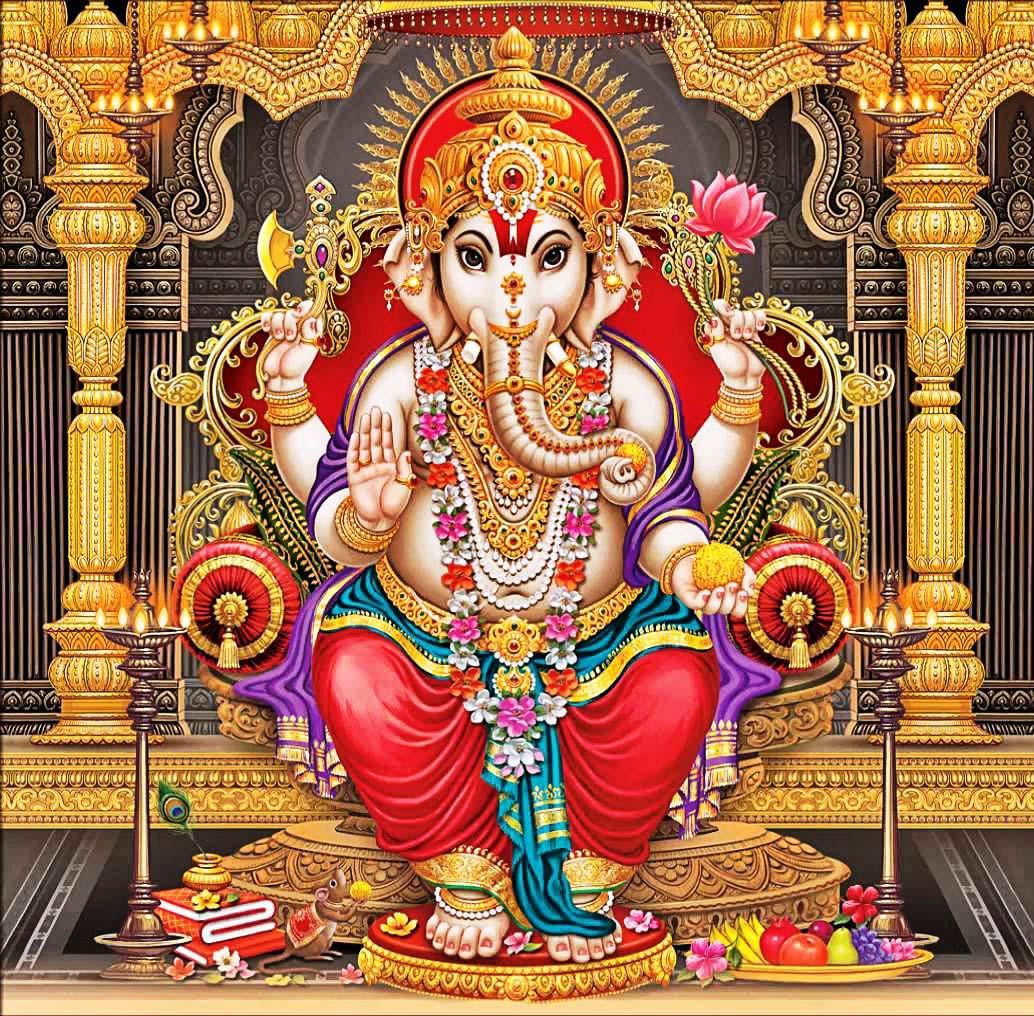 Maa Saraswati 3d Wallpaper 2013 Ganesha Hd New Wallpapers Free Download Allfreshwallpaper