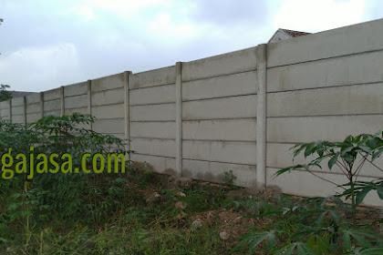 Harga pagar panel beton Tangerang terpasang