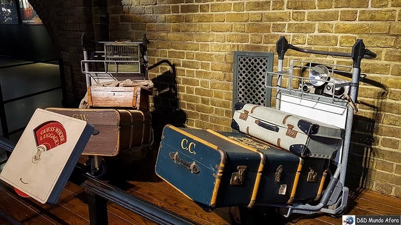 Bastidores dos estúdios do Harry Potter na Warner Bros em Londres