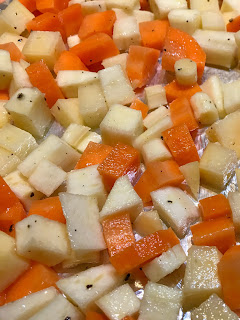 Diced Root Vegetables - Rutabaga, Carrot, and Parsnip