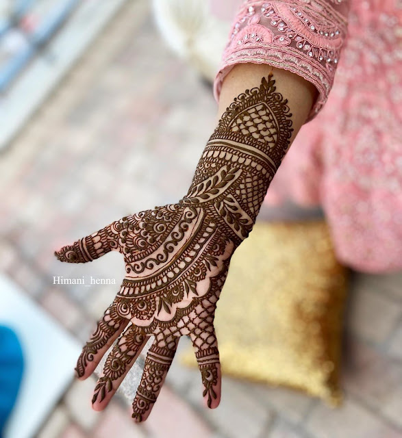 Mehndi Design Girls