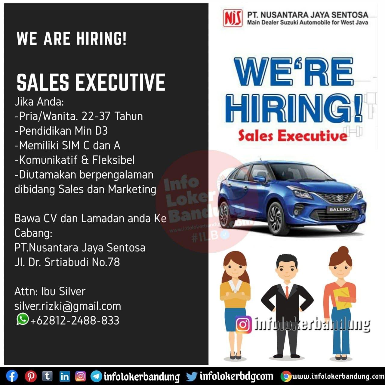 Lowongan Kerja PT. Nusantara Jaya Sentosa (NJS) Bandung Desember 2020