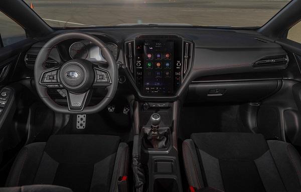 Interior Subaru WRX 2022