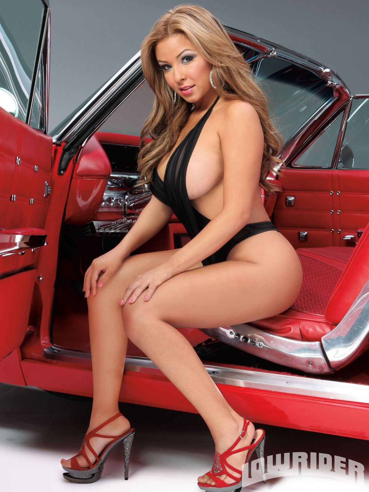 Nude lowrider model pics possible