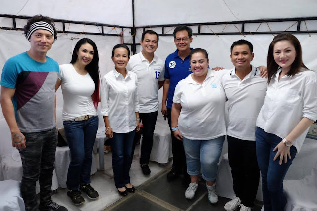 Celebrities support Grace Poe