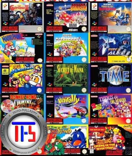 Descargar 700 Juegos De Super Nintendo Emulador Snes 9x Gratis 1