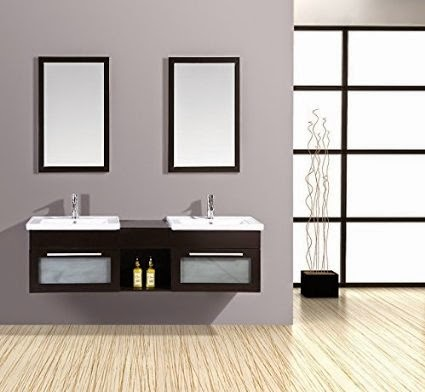 meuble salle de bain double vasque design et pas cher. Black Bedroom Furniture Sets. Home Design Ideas
