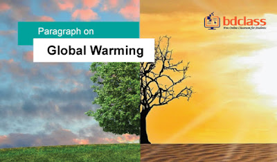 write a paragraph on global warming