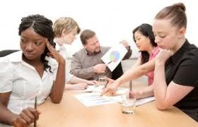 trabalho em equipe ruim sem liderança