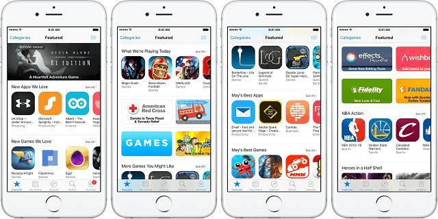 Banyak sekali aplikasi pihak ketiga tersedia di app store