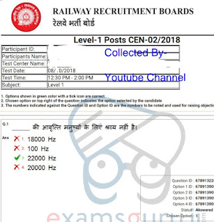RRB previous year papers download