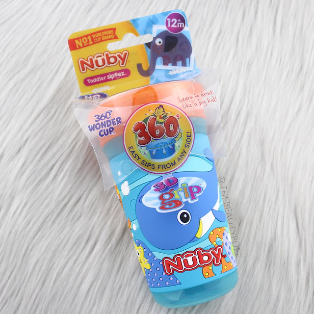 Nuby 360 Wonder Cup with 3D Grip  |  The Beauty Puff
