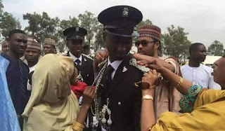 Emir Of Kano First Son Joins Police