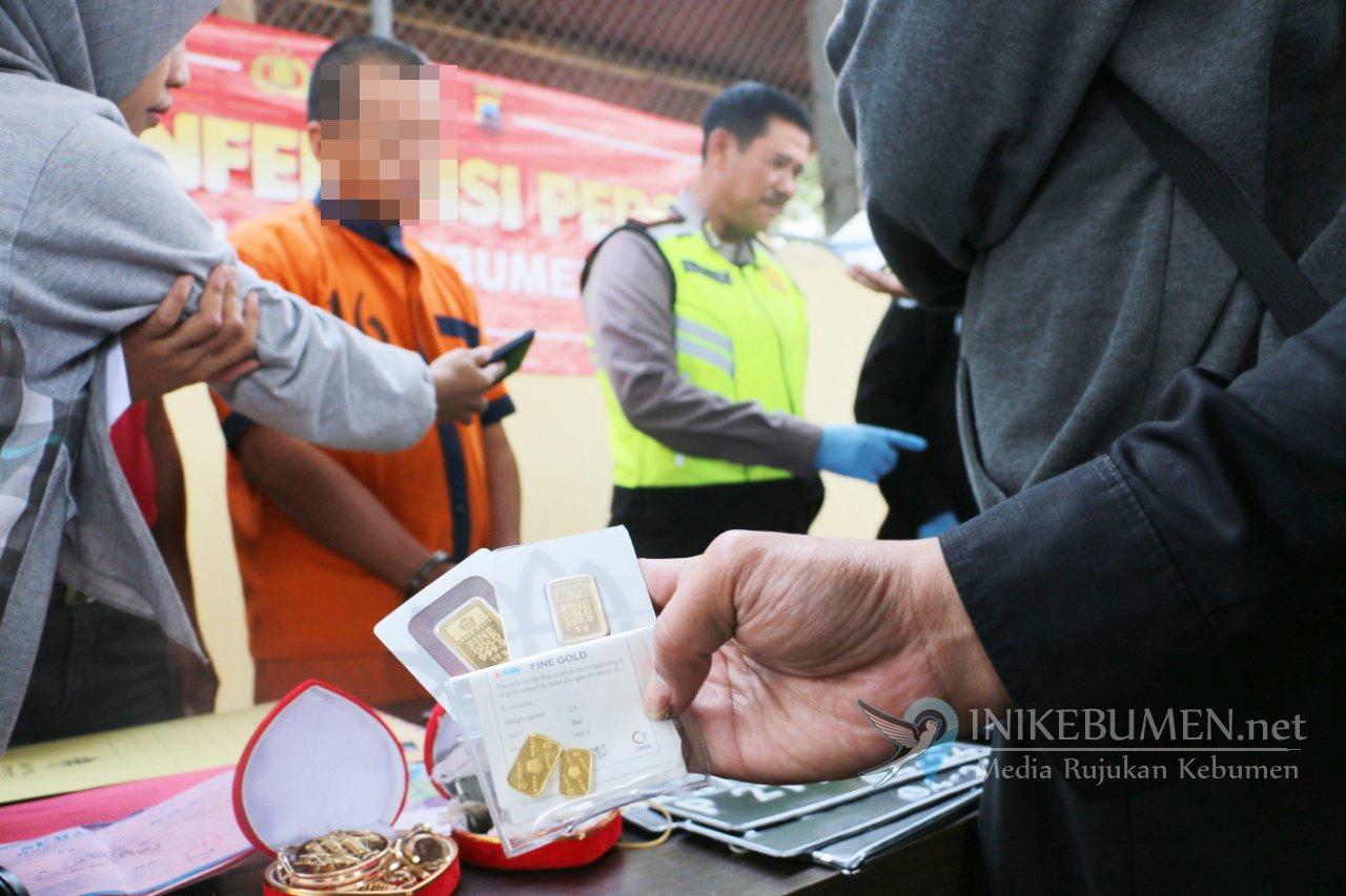 Residivis Penipuan Jual Emas Lintas Kabupaten Dibekuk Polisi Kebumen