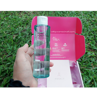 Althea Pore Purifying, Althea Pore Purifying review, serum cleanser, Pore Purifying, harga Althea Pore Purifying Serum Cleanser, Althea Pore Purifying Serum Cleanser review