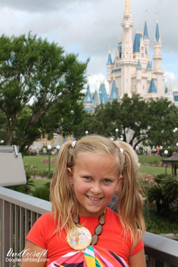 10 Tips for Disney World Florida Vacation: Magic Kingdom castle photos