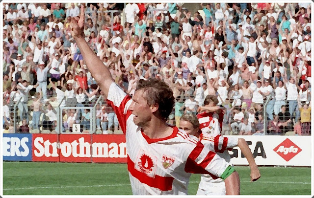 Buchwald Stuttgart Leverkusen 1992