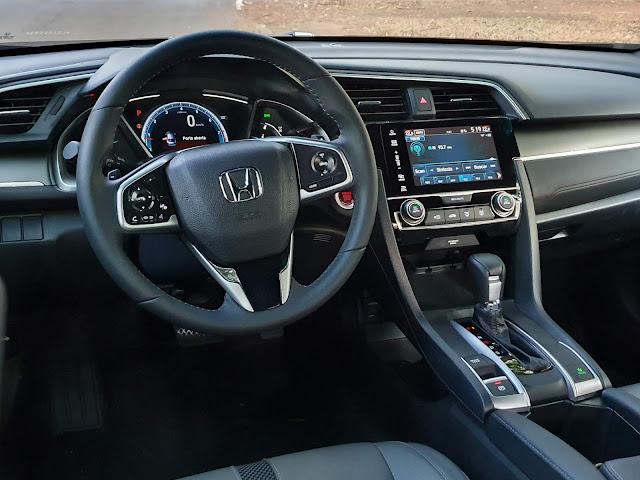 Honda Civic EXL 2.0 2020 - avaliação