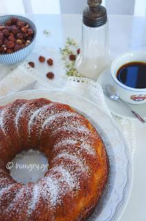 Yogurt Hazelnut Cake