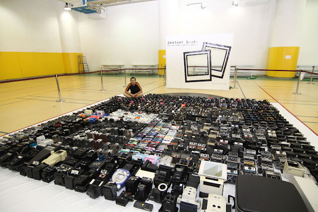 Largest instant camera collection - Wong Ting Man