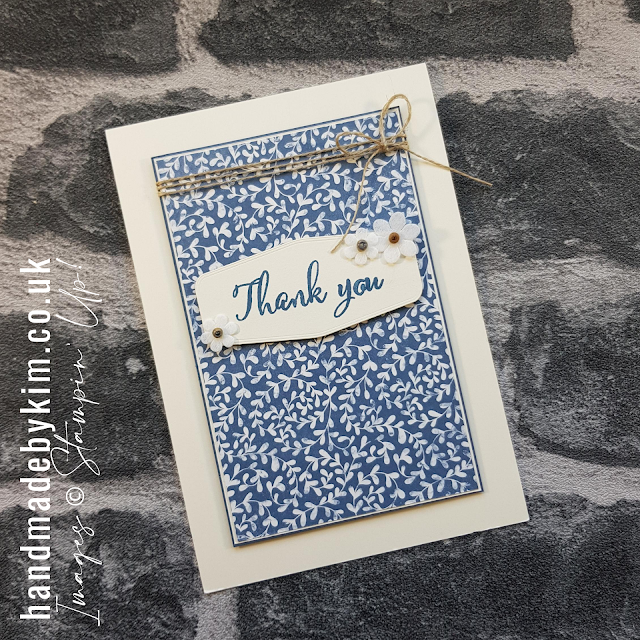 Boho Indigo Product Medley Making a Difference Stamp Set Stampin' Up!