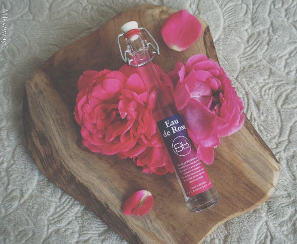 Eau florale de rose damascena par Bio Kenz Paris