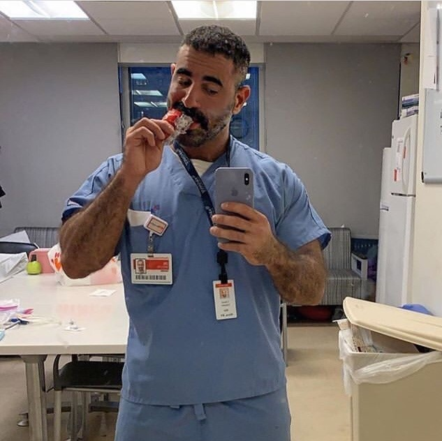 médico guapo