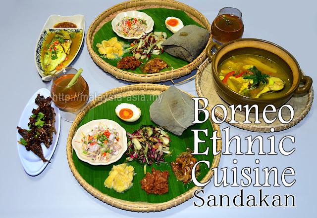 Sandakan Borneo Ethnic Cuisine Restaurant