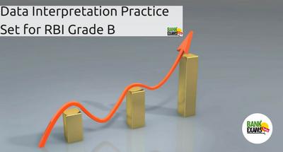 Data Interpretation Practice Set for RBI Grade B