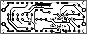 Printed Circuit Power Supply with Dissipation Limiter