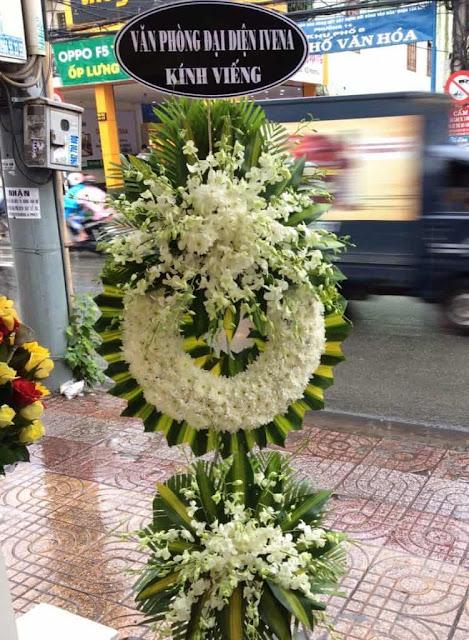 hoa cúc trắng đám tang