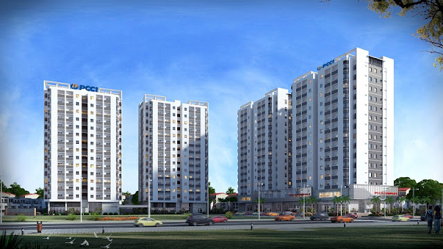 Phối cảnh dự án chung cư PCC1