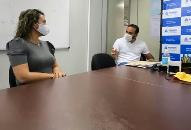 PLANEJANDO A EUNÁPOLIS DO FUTURO: Cordélia tem semana produtiva em Salvador 21
